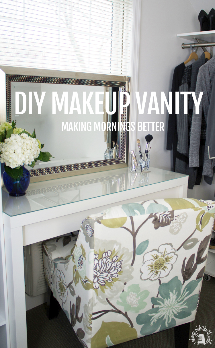 Diy Makeup Vanity Making Mornings Better